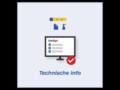 Tegel Technische info